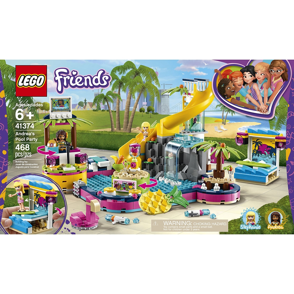 Buy Lego Friends Andrea'S Pool Party 41374 For Cad 69.99 | Toys R Us Canada destiné Piscine A Balle Toysrus