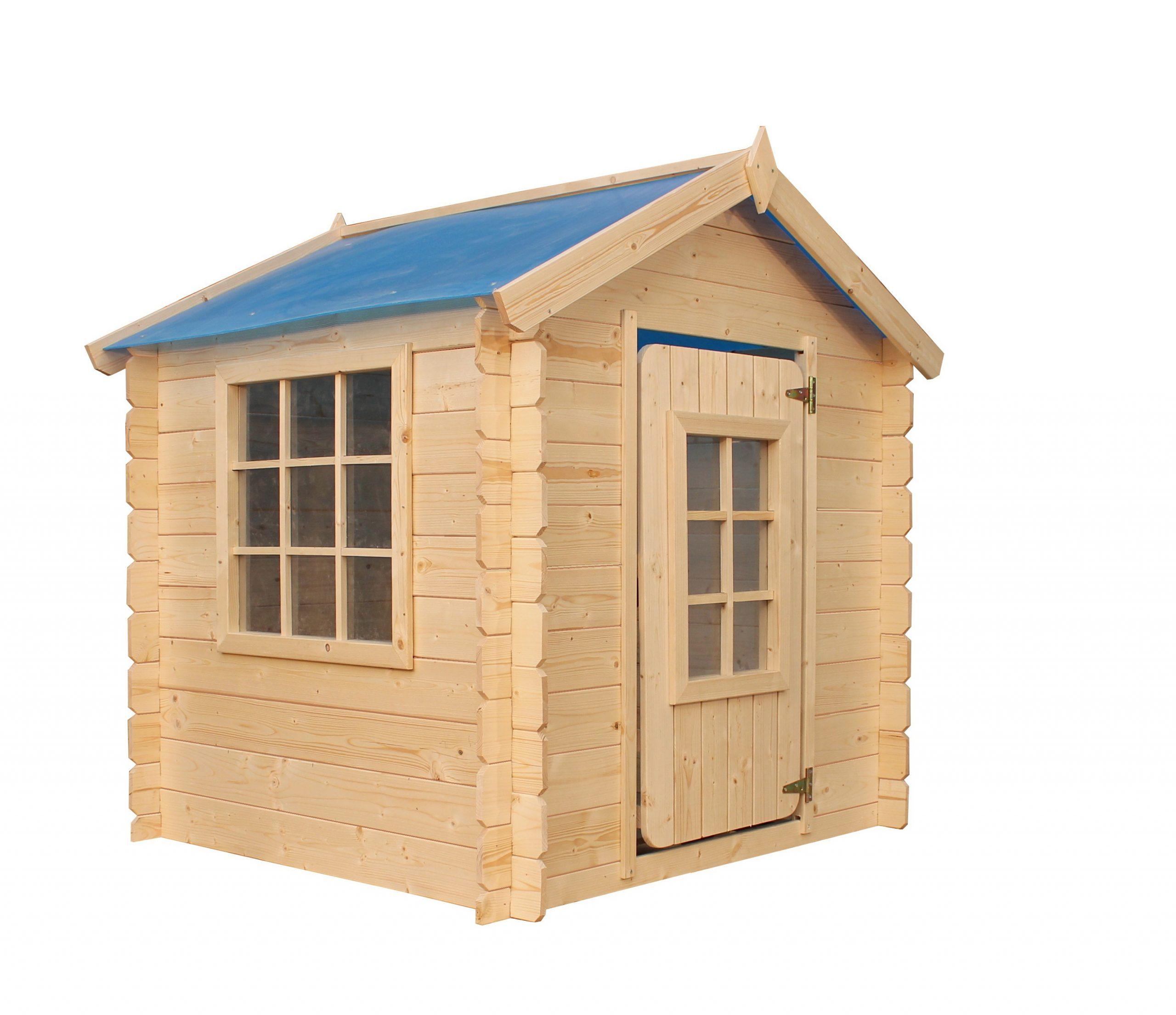 Cabane En Bois Timbela M570 Pour Enfant – Maison De Jardin ... avec Maisonnette En Bois Pas Cher Occasion