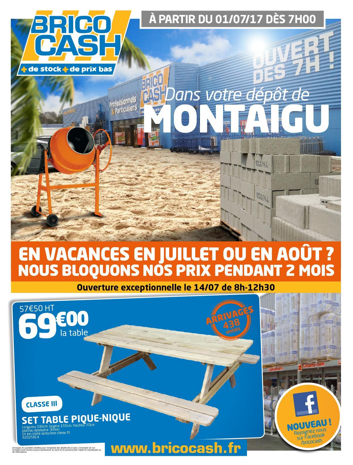 Calaméo - Catalogue Brico Cash Été 2017 tout Regard Beton 50X50 Brico Depot