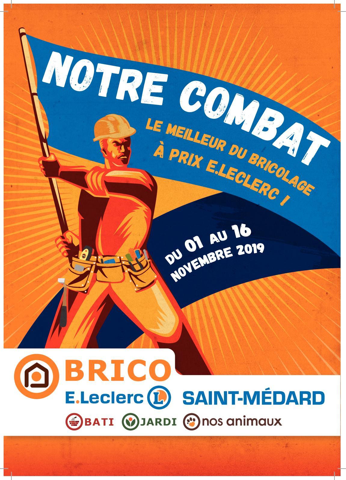 Calaméo - Catalogue Brico E.leclerc Saint-Médard pour Mini Serre Leclerc
