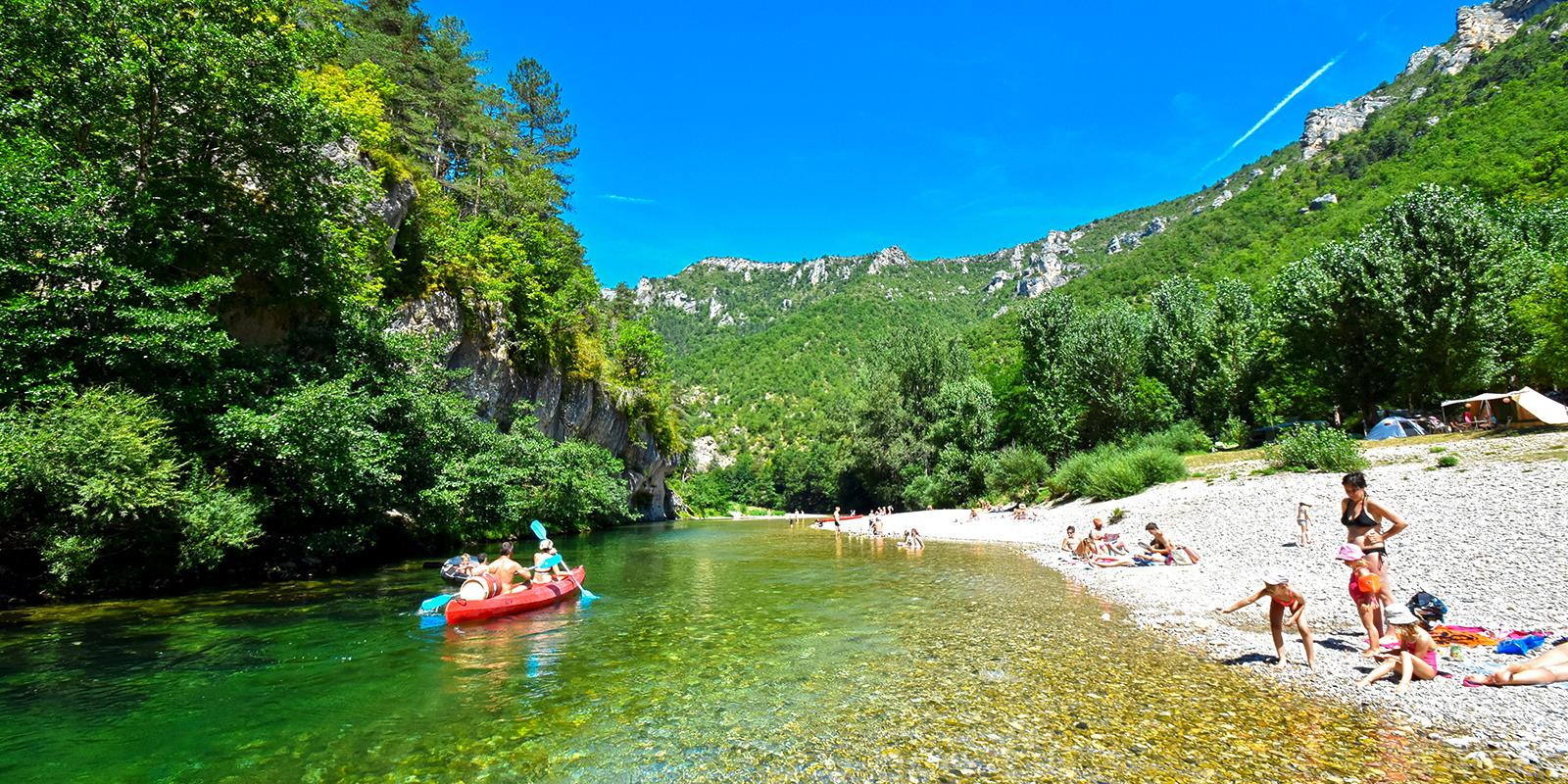 Camping 3 Étoiles Lozère - Camping La Blaquière Dans Les ... encequiconcerne Camping Gorges Du Tarn Avec Piscine