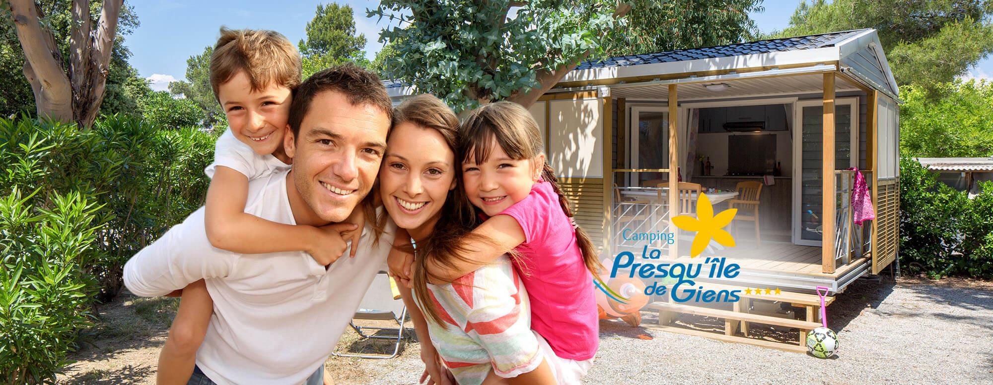 Camping 4**** La Presqu'Île De Giens, À Hyères, Pour Un ... destiné Camping Presqu Ile De Giens Avec Piscine