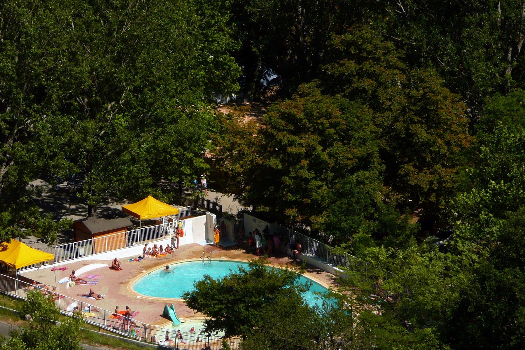 Camping Au Bord Du Verdon Avec Piscine - Chasteuil Provence *** intérieur Piscine Castellane