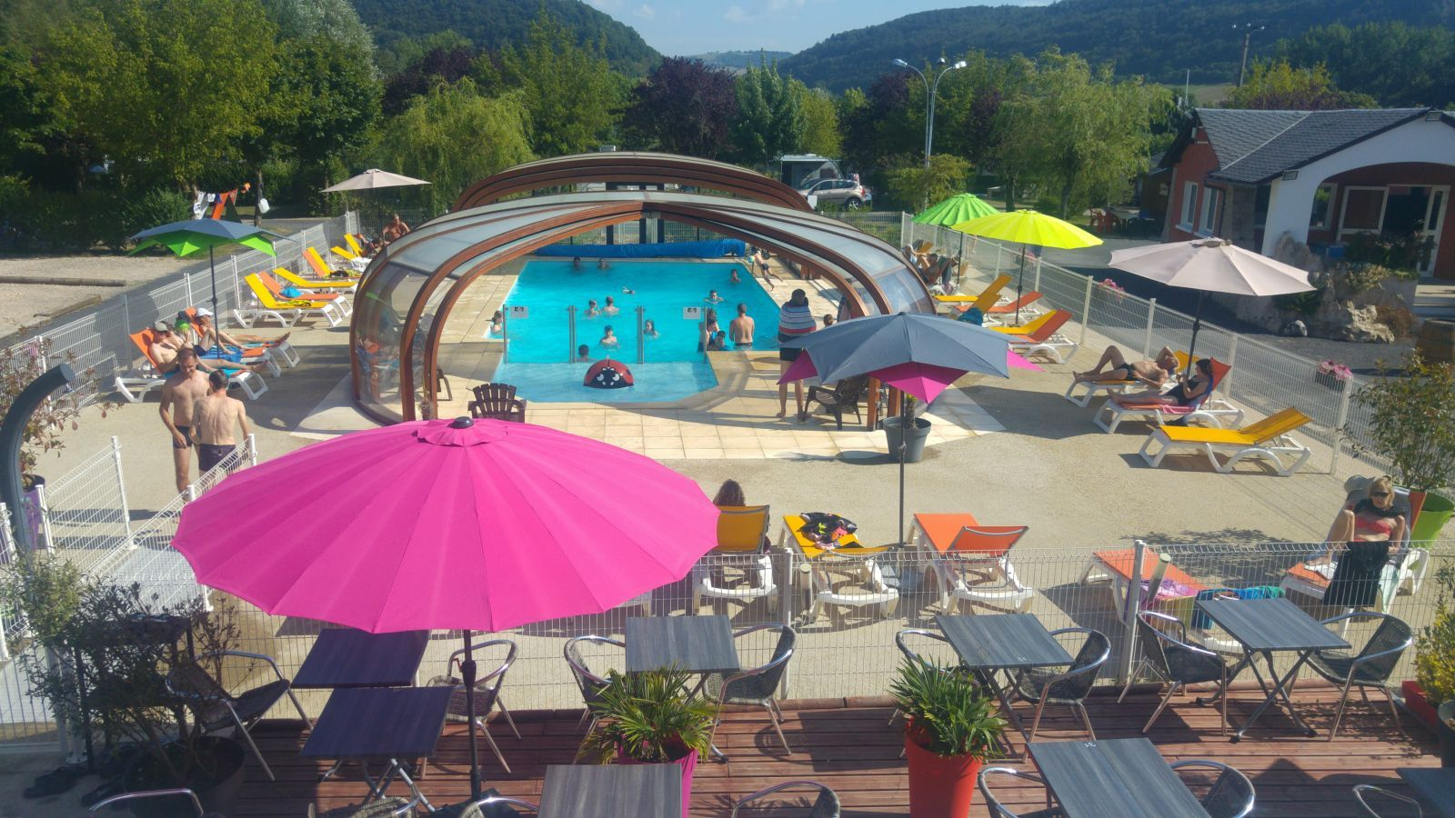 Camping Aveyron | Gorges Du Tarn | 4 Étoiles | Camping Entre ... pour Camping Gorges Du Tarn Avec Piscine