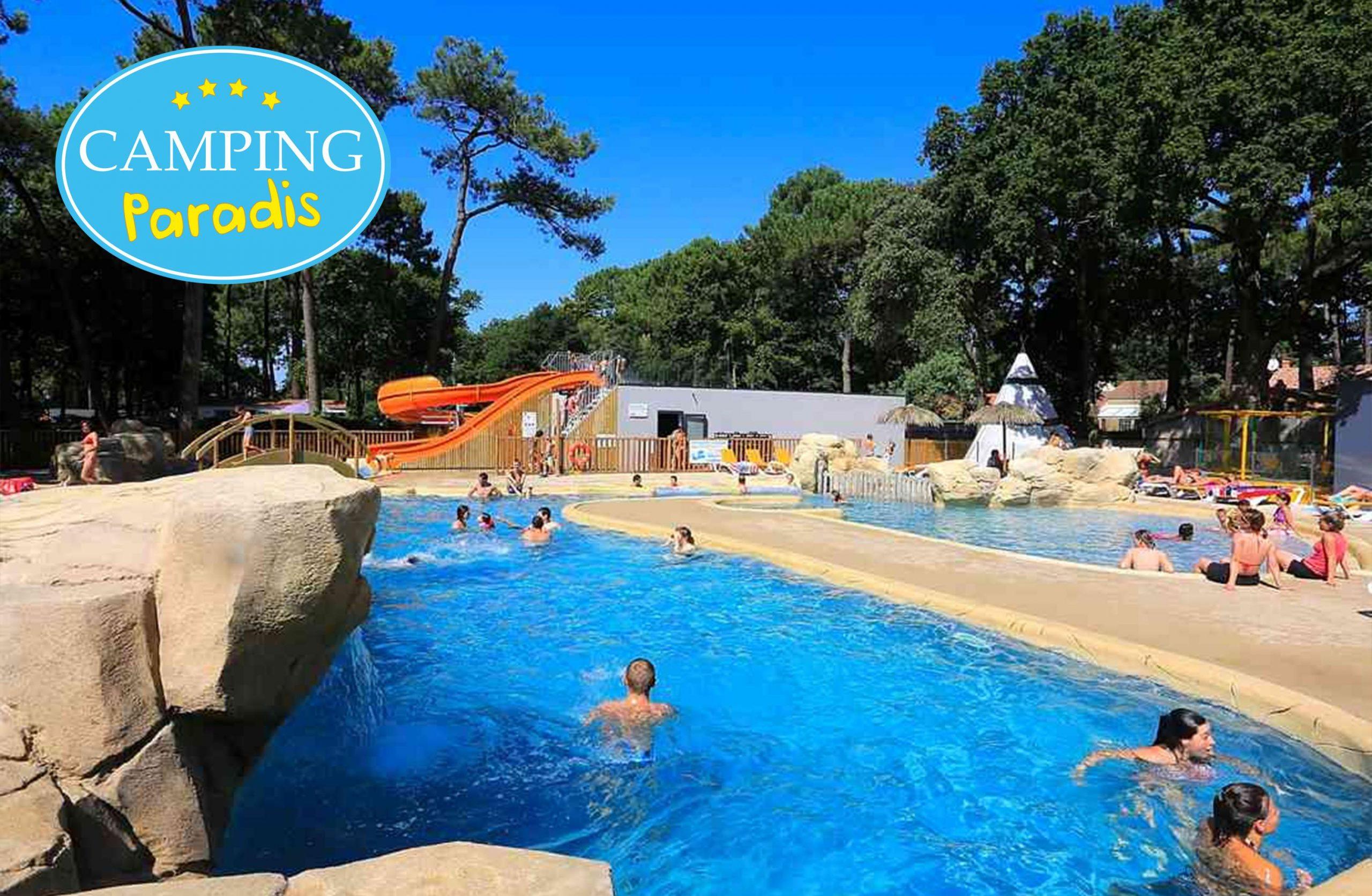 Camping Paradis Les Rochelets | Camping À St Brevin Les ... avec Horaire Piscine Saint Brevin
