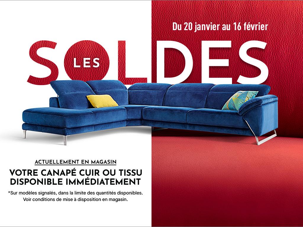 Canapé Cuir, Canapé D'Angle, Fauteuil Relaxation - Cuir Center pour Poltronesofa La Roche Sur Yon