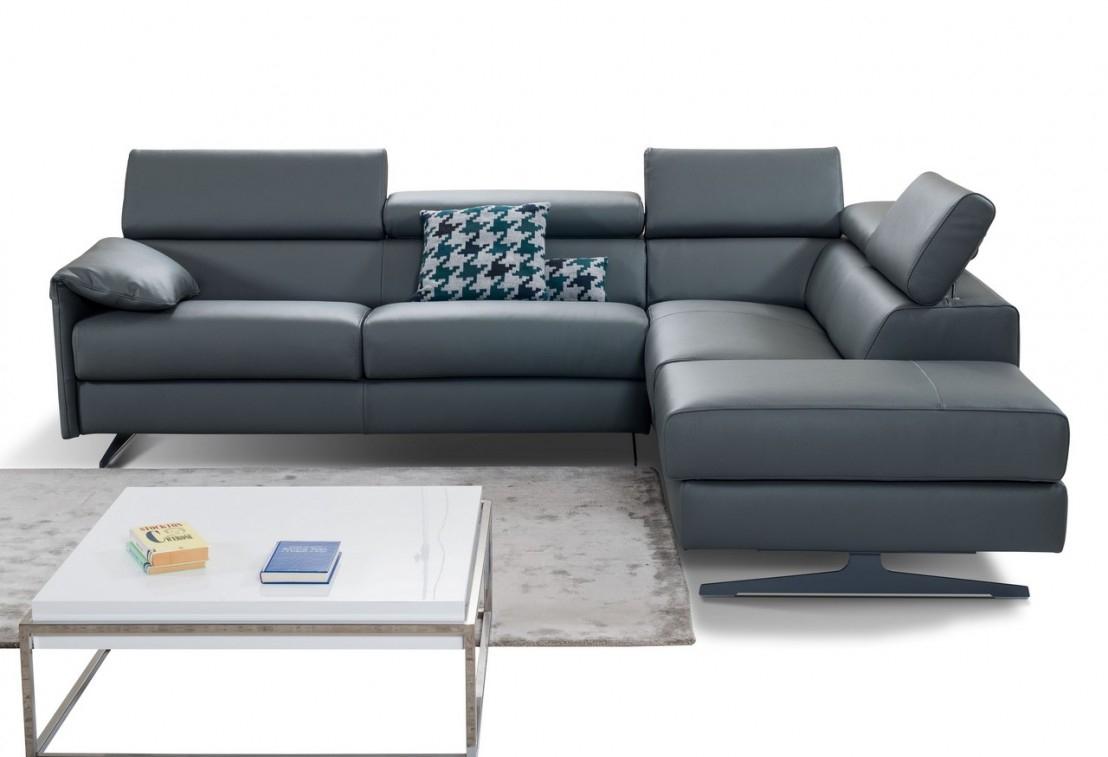 Canapé D'Angle Convertible 4 Places Sleep.smart pour Canapé Relax Convertible Double Couchage