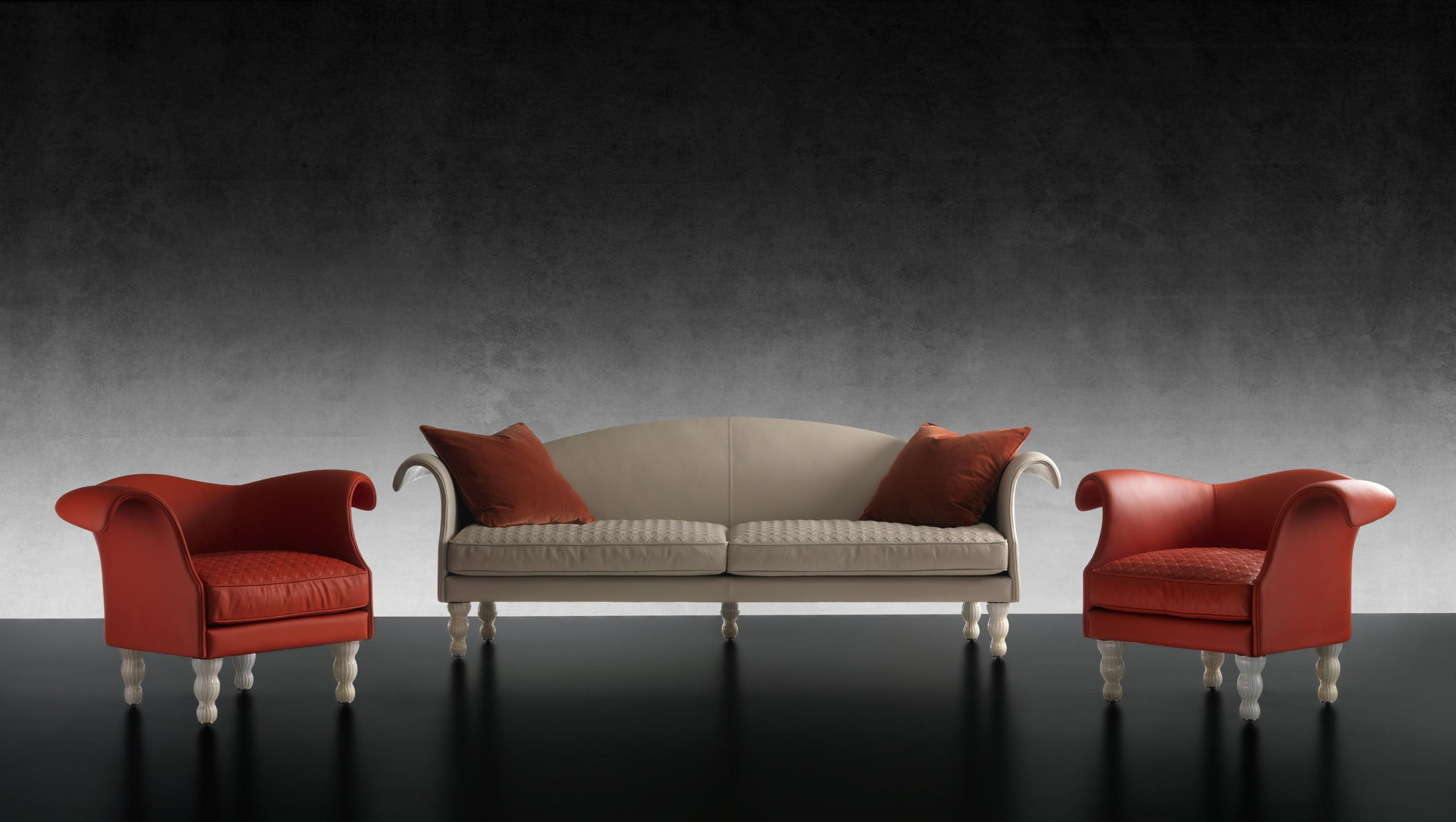 Casanova Fauteuil & Mobilier Design | Architonic à Casanova Canapé Italien