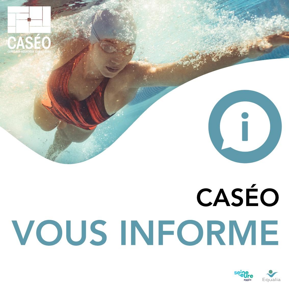 Caséo : Piscine & Complexe Aquatique Sein / Eure - Accueil à Piscine Louviers Horaire