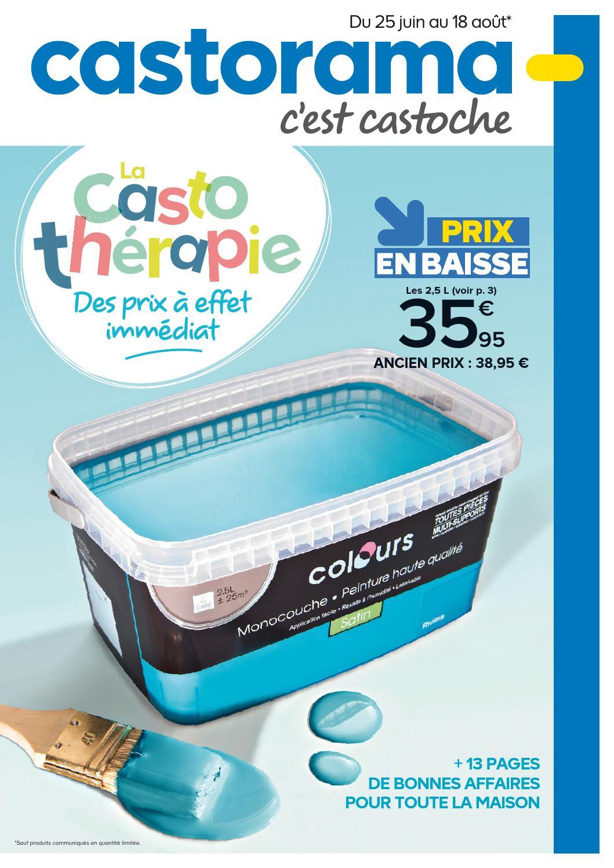 Castorama Catalogue 25Juin 18Aout2014 By Promocatalogues ... tout Réhausse Béton 50X50 Castorama
