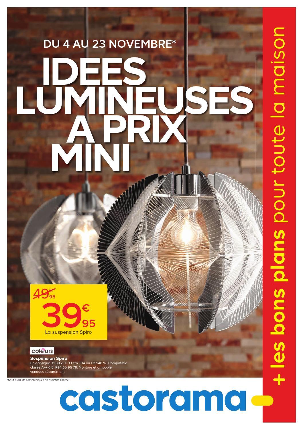 Castorama Catalogue 4 23Novembre2015 By Promocatalogues ... concernant Réhausse Béton 50X50 Castorama