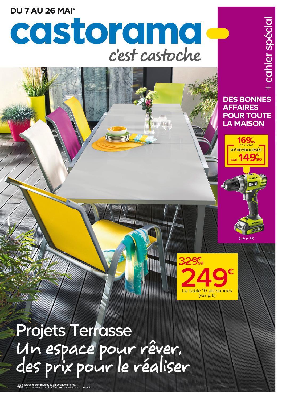 Castorama Catalogue 7 26Mai2014 By Promocatalogues - Issuu pour Toile Pour Pergola 4X3 Castorama