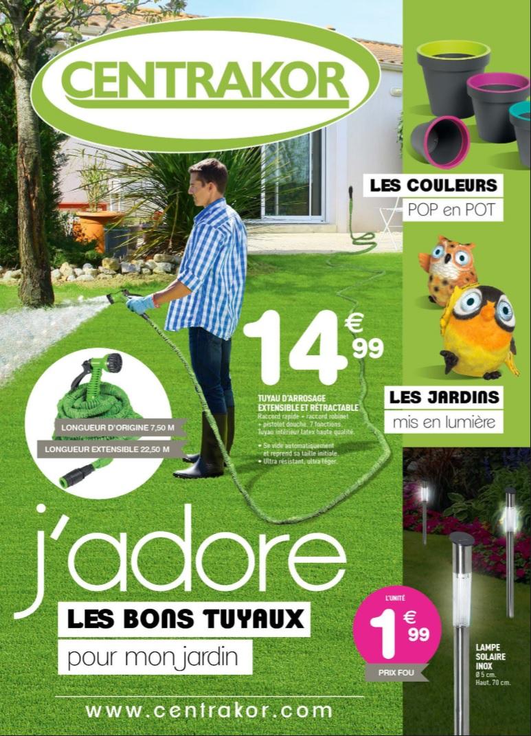 Catalogue Centrakor Avril 2015 - Catalogue Az avec Lampe Solaire Jardin Centrakor