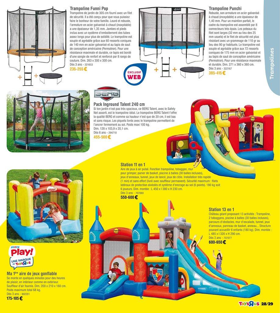 Catalogue Toys'R'Us Plein Air 2018 | Catalogue De Jouets tout Piscine A Balle Toysrus