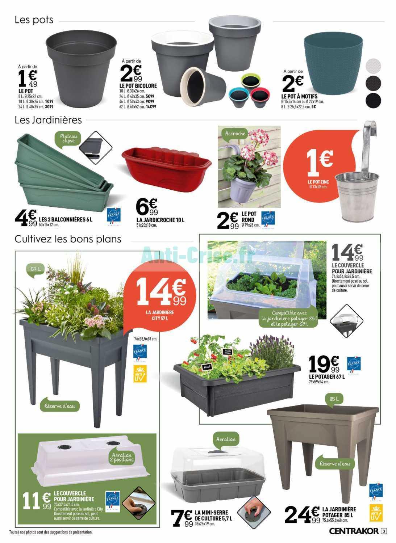 Centrakor : Le Nouveau Catalogue Du 06 Avril Au 10 Mai 2020 ... encequiconcerne Lampe Solaire Jardin Centrakor