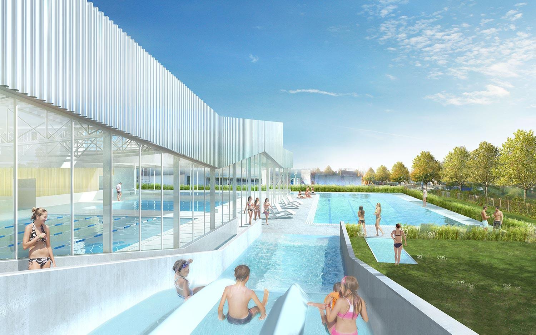 Centre Aquatique - Alt 127 . Architectes à Piscine De Combourg