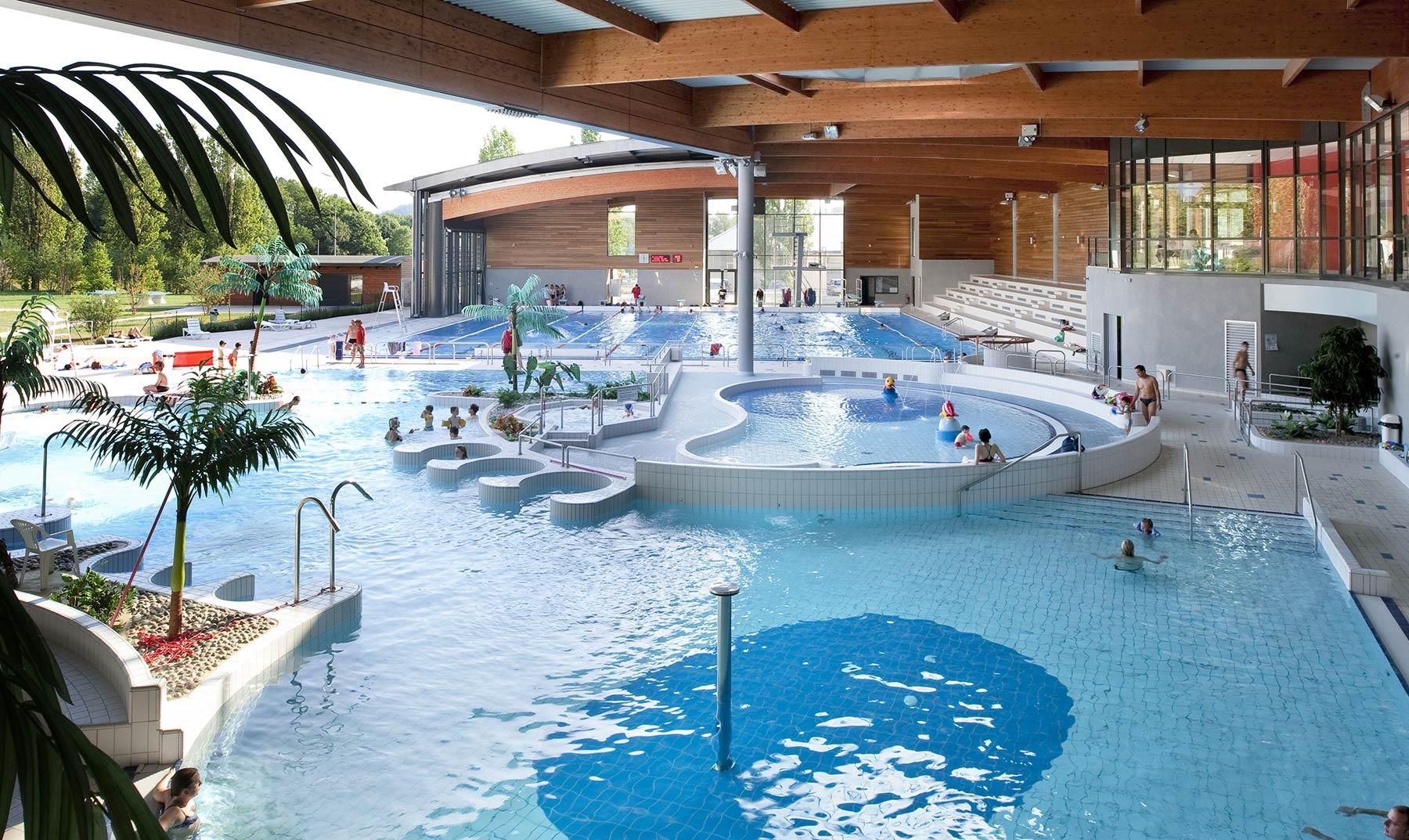Centre Aquatique De Lons-Le-Saunier | Atelier Périnet ... tout Piscine Aquarel Lons