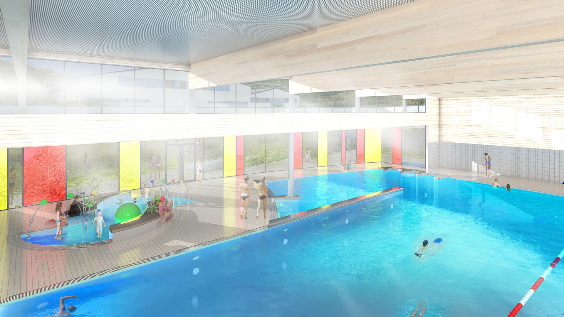 Centre Aquatique De Malestroit | Atelier Périnet-Marquet Et ... à Piscine Malestroit
