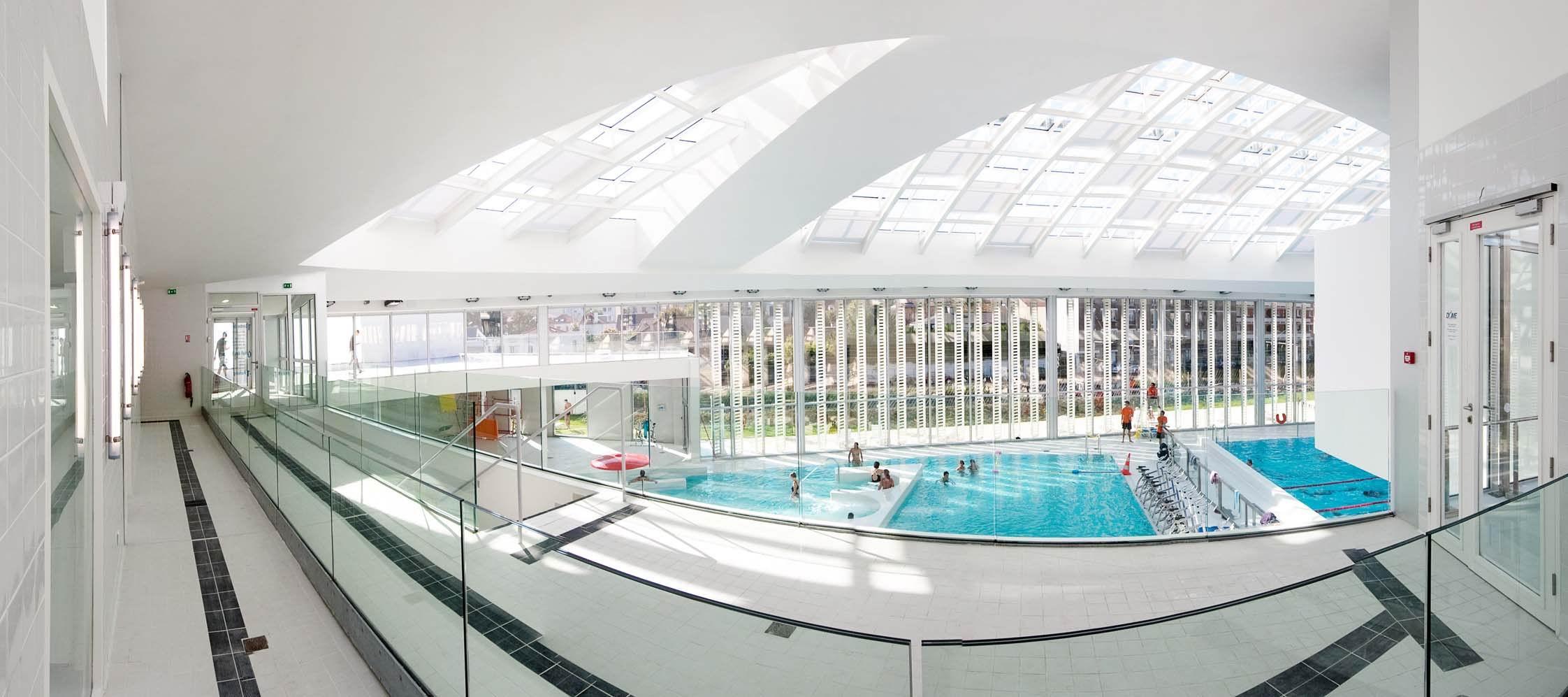 Centre Aquatique Le Dôme, Vincennes (94) | Urbaine De Travaux à Piscine Dome Vincennes
