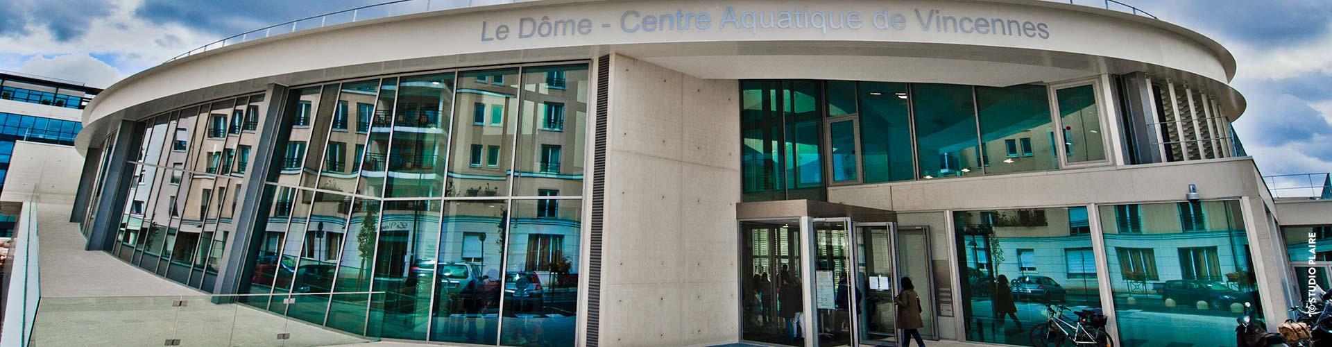 Centre Aquatique | Ville De Vincennes intérieur Piscine Dome Vincennes