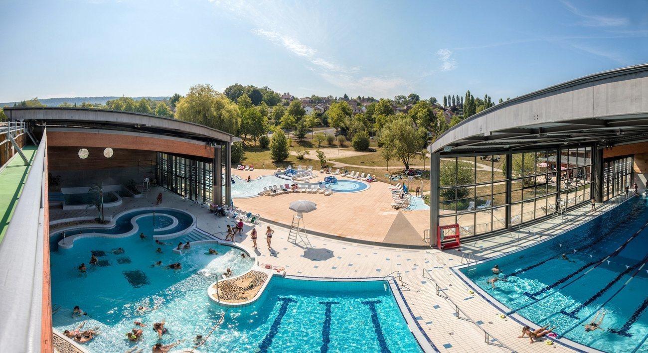 Cet Été Le Centre Aqua'Rel De Lons-Le-Saunier A Bénéficié D ... concernant Piscine Aquarel Lons