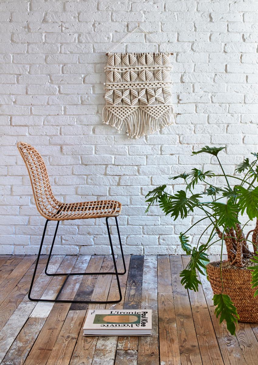 Chaise En #Rotin Aliza #Miel - But #Salon #Décoration ... concernant Chaises Rotin But