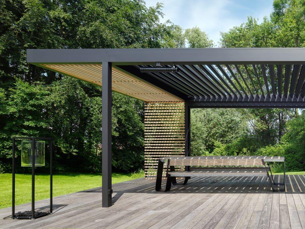 Cole Road Moderner Garten Von Iq Outdoor Living Modern ... à Terrasse Couvertemoderne