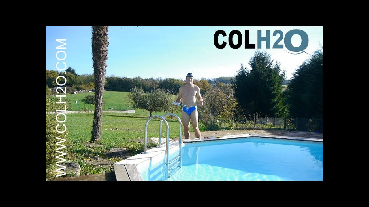 Colh2O Réparation Liner Piscine Directement Sous L'Eau Avec Une Rustine pour Reparation Liner Piscine