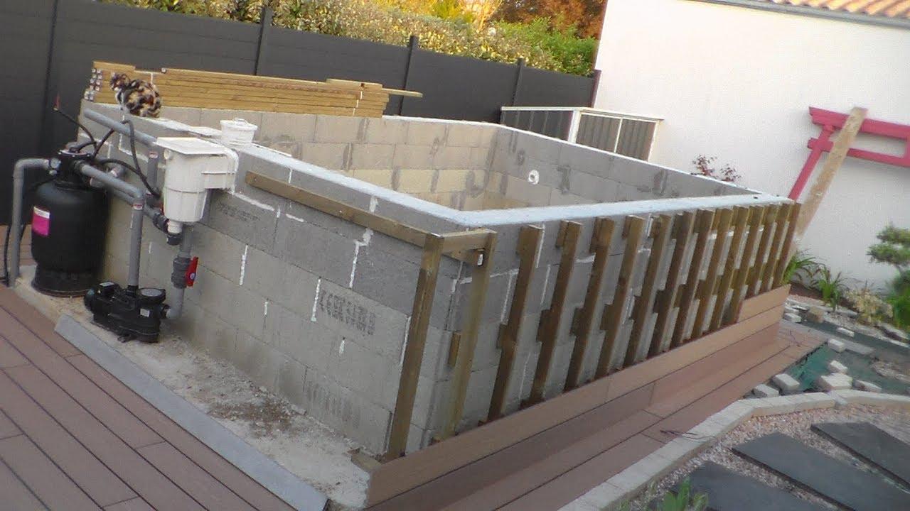 Comment Construire Sa Piscine Hors Sol, How To Build Your Aboveground Pool tout Faire Une Piscine Soi Meme