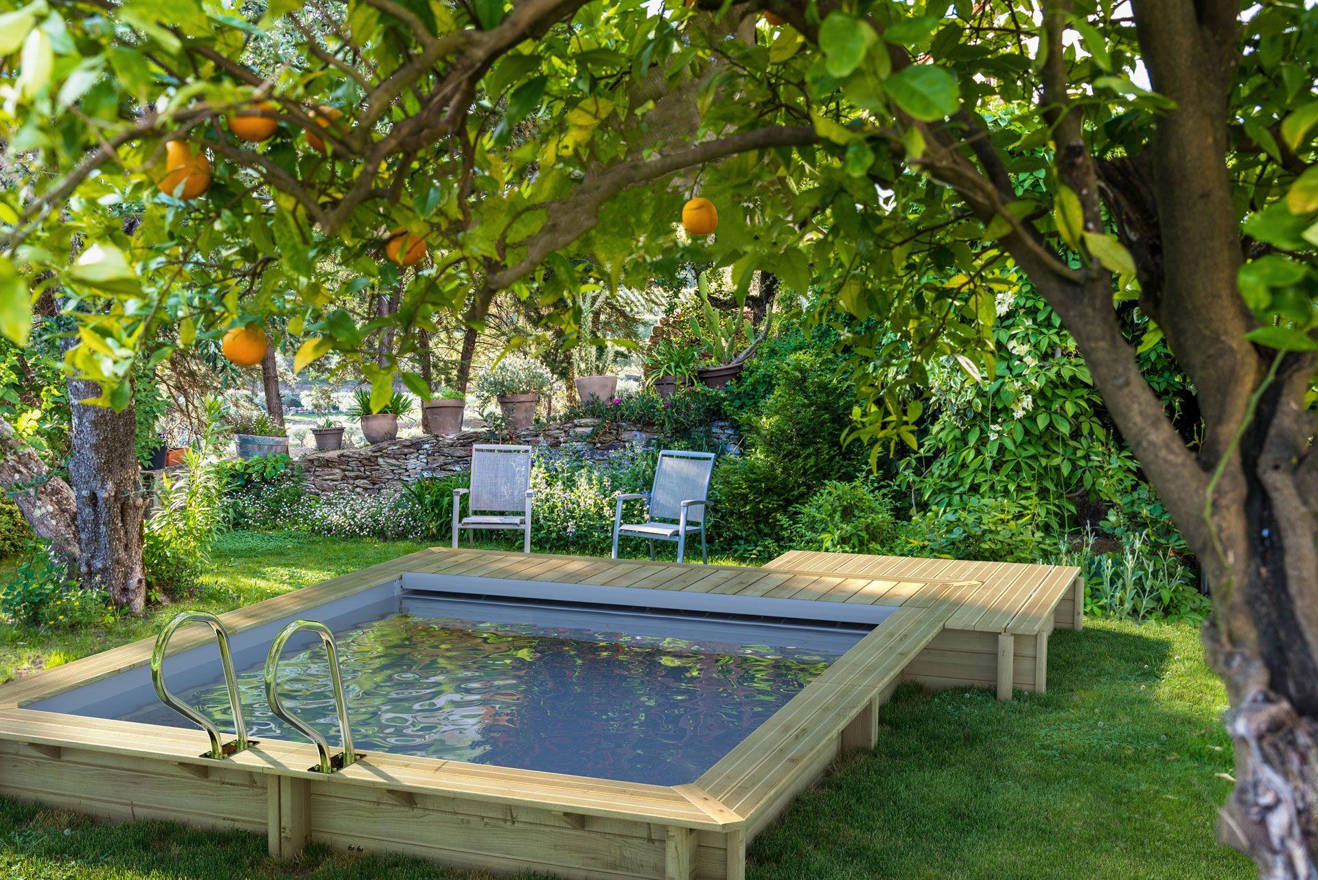 Comment Installer Une Piscine Dans Un Petit Jardin pour Aménagement Autour D Une Piscine Hors Sol