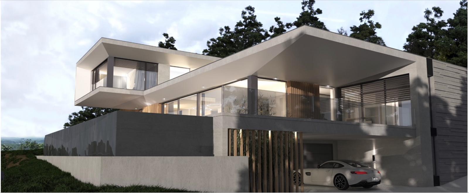 Construction De Maison Sur Terrain En Pente - Construction ... concernant Maisons Design En Pente