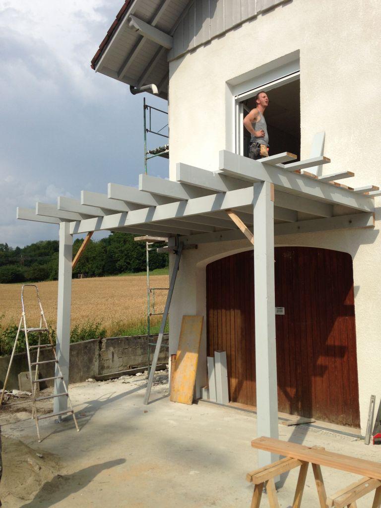 Construction D'Une Extension De Balcon/Terrasse concernant Agrandir Un Balcon Existant