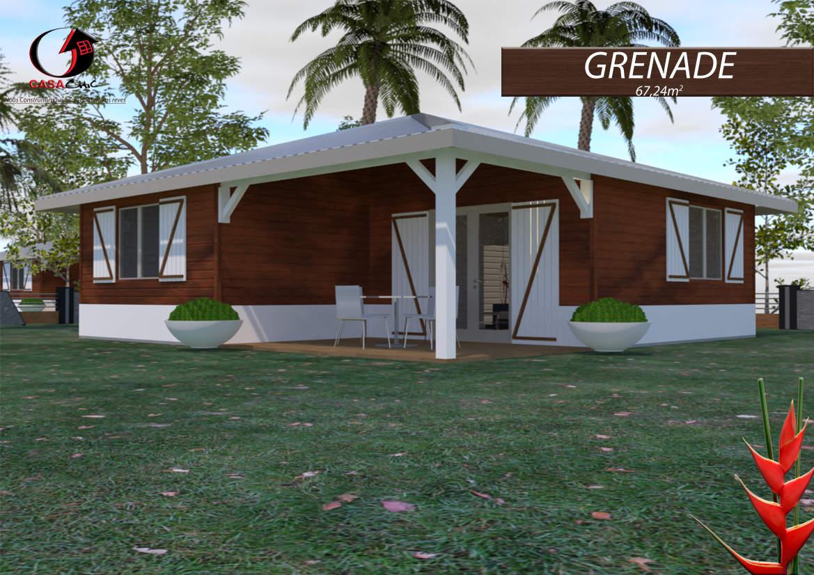 Construire Sa Maison En Bois En Martinique Ou Guadeloupe ... à Maison En Kit Martinique
