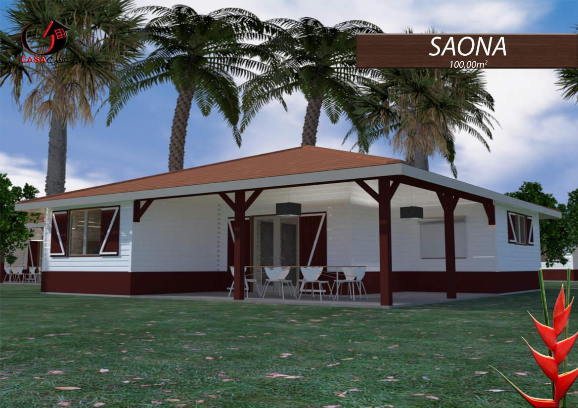 Construire Sa Maison En Bois En Martinique Ou Guadeloupe ... tout Maison En Kit Martinique