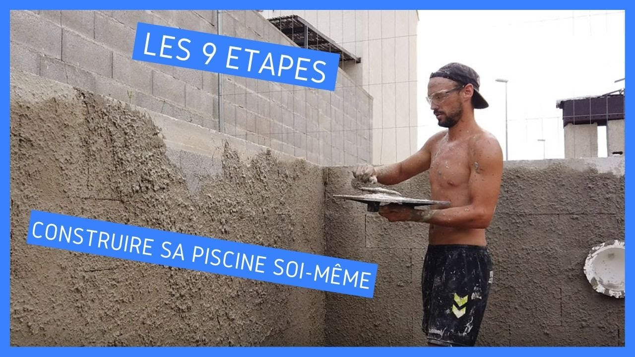 Construire Sa Piscine En 9 Étapes tout Construire Sa Piscine Soi Meme