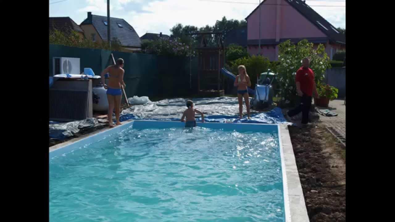 Construire Une Piscine Soi Meme / Pool Selber Bauen / How To Build A Pool destiné Faire Une Piscine Soi Meme