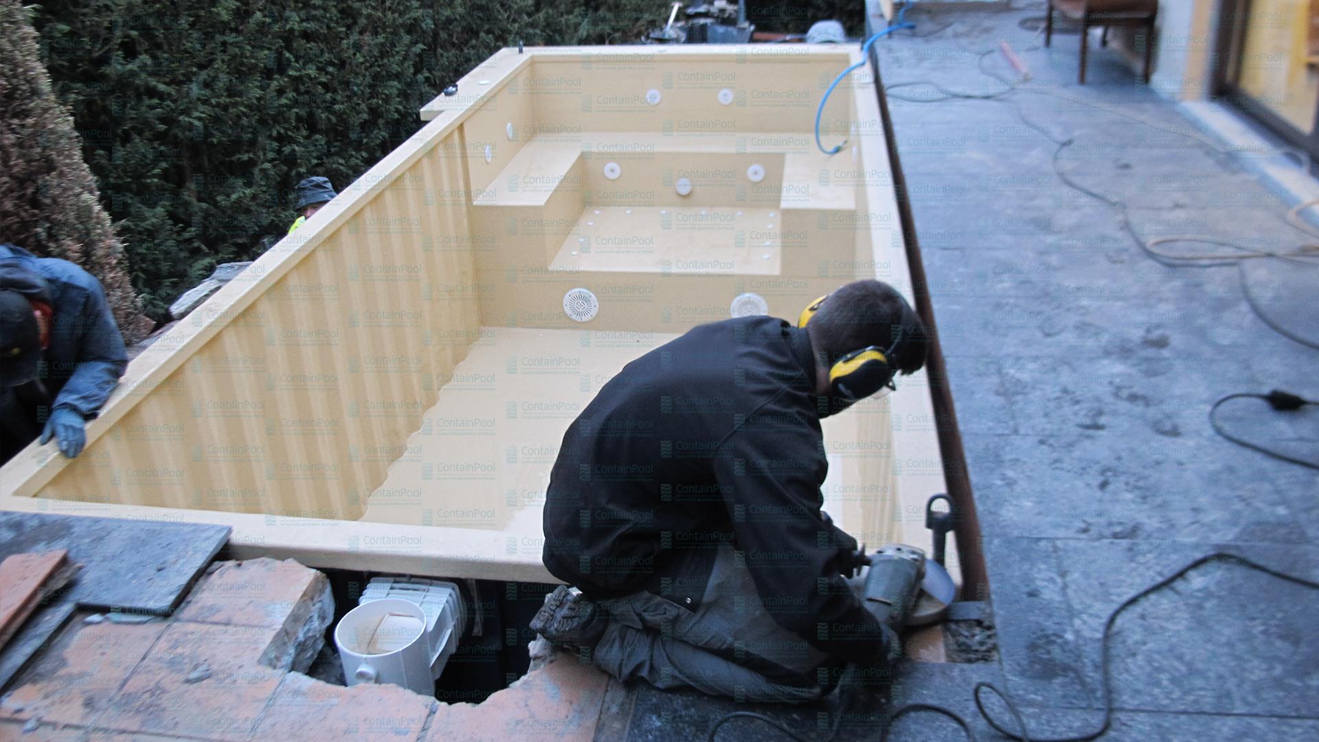 Container Piscine : Un Nouveau Concept Exceptionnel ... pour Piscine Container France