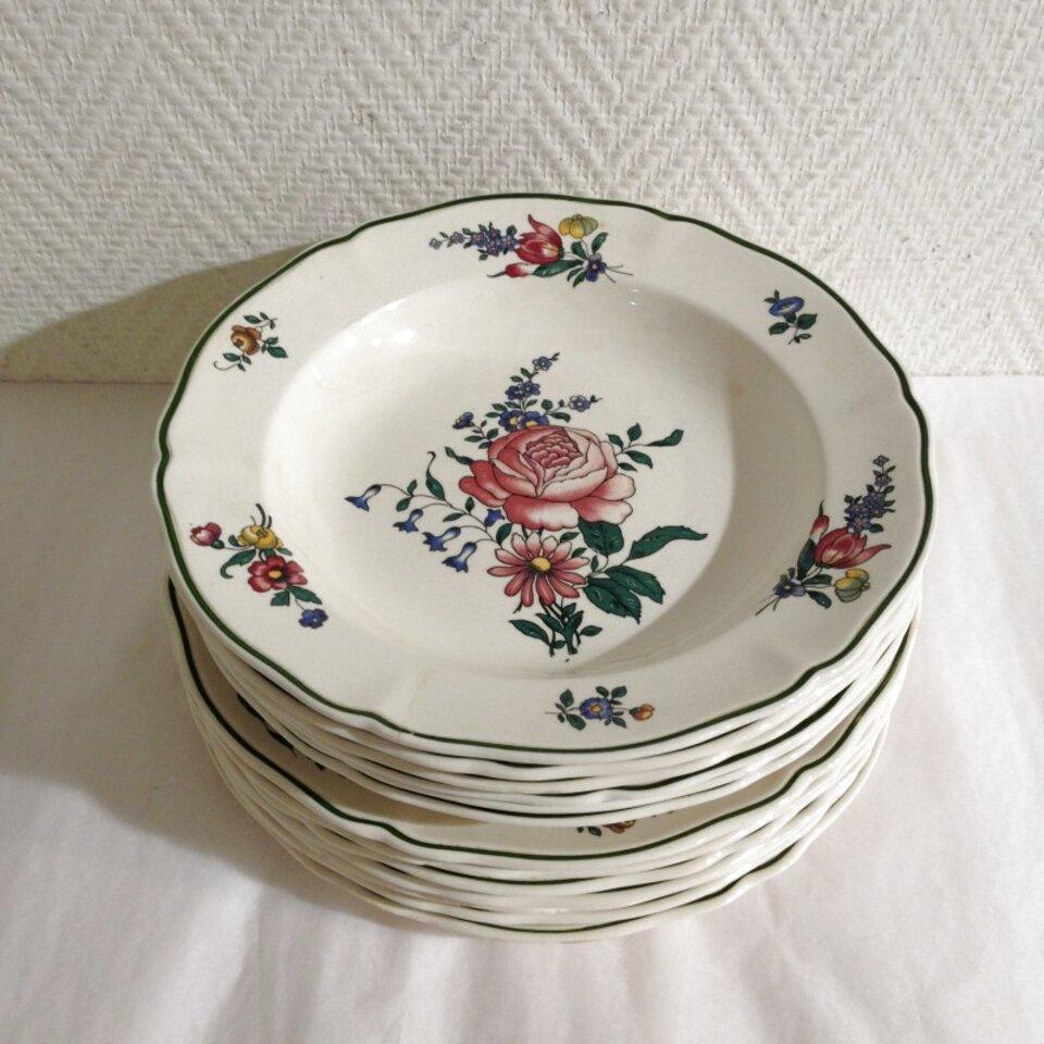 """Cuisine, Arts De La Table Série Œ Assiette De """"Villeroy ... intérieur Villeroy & Bochvaisselle Ancienne Collection"""