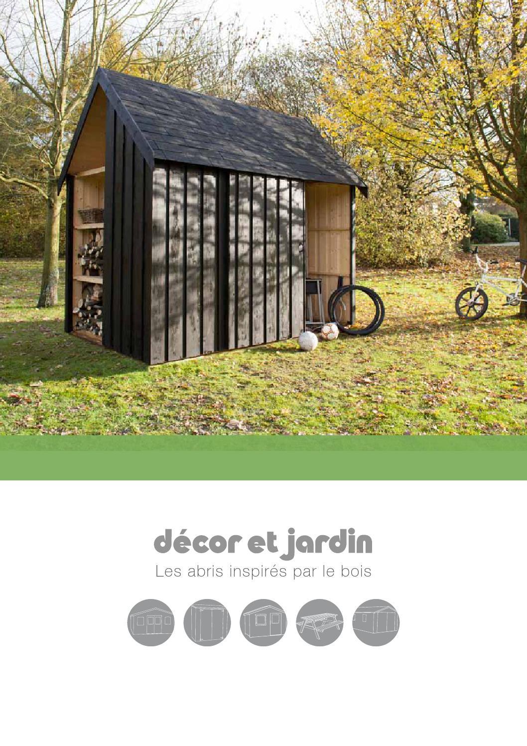 Décor Et Jardin - Catalogue 2014 By Cras Woodgroup - Issuu intérieur Decor Et Jardin Abri Modules 12 Mm