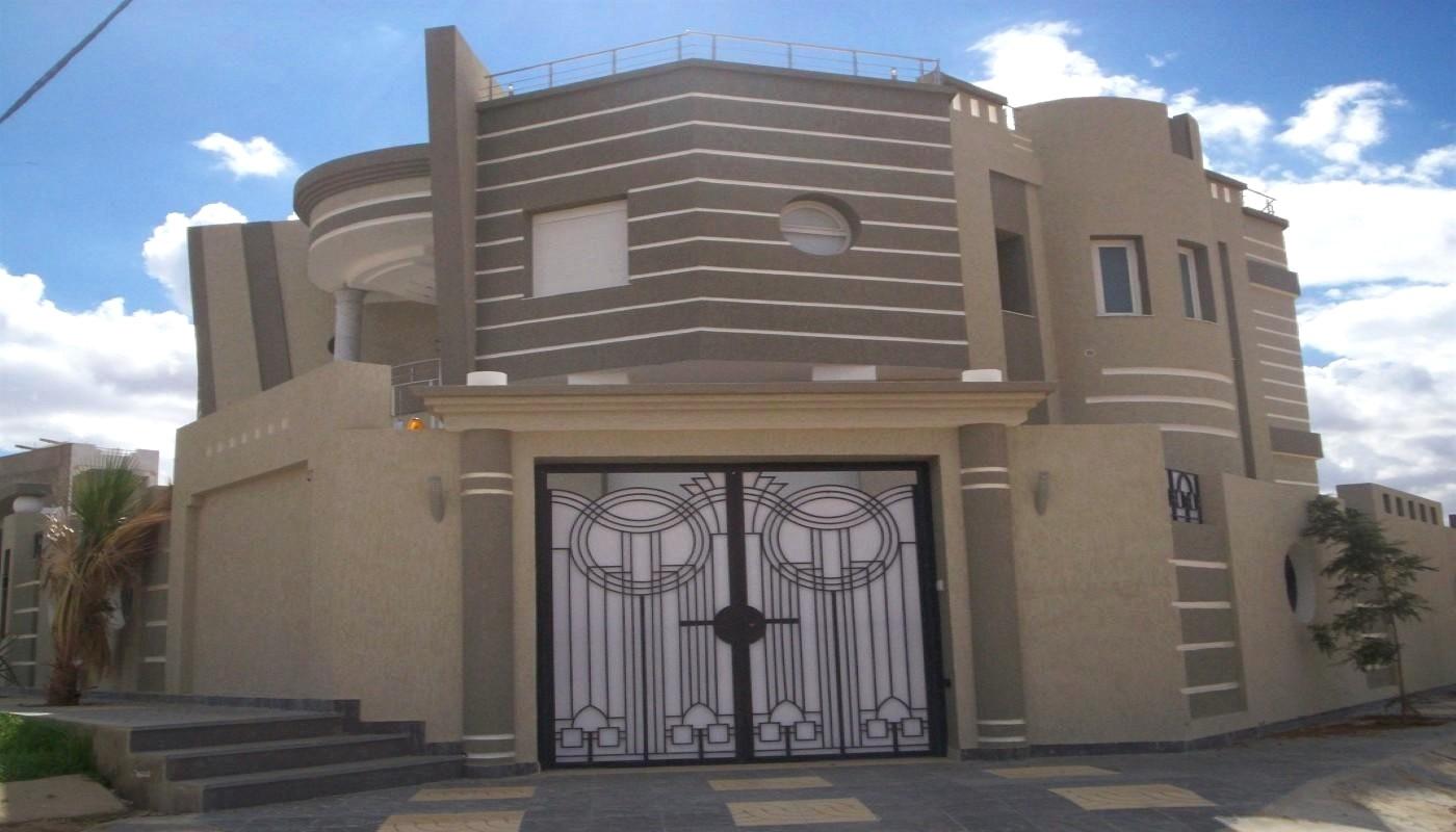 Decoration Exterieur Facade Maison Tunisie dedans Decoration Cloture Exterieur Maison En Tunisie