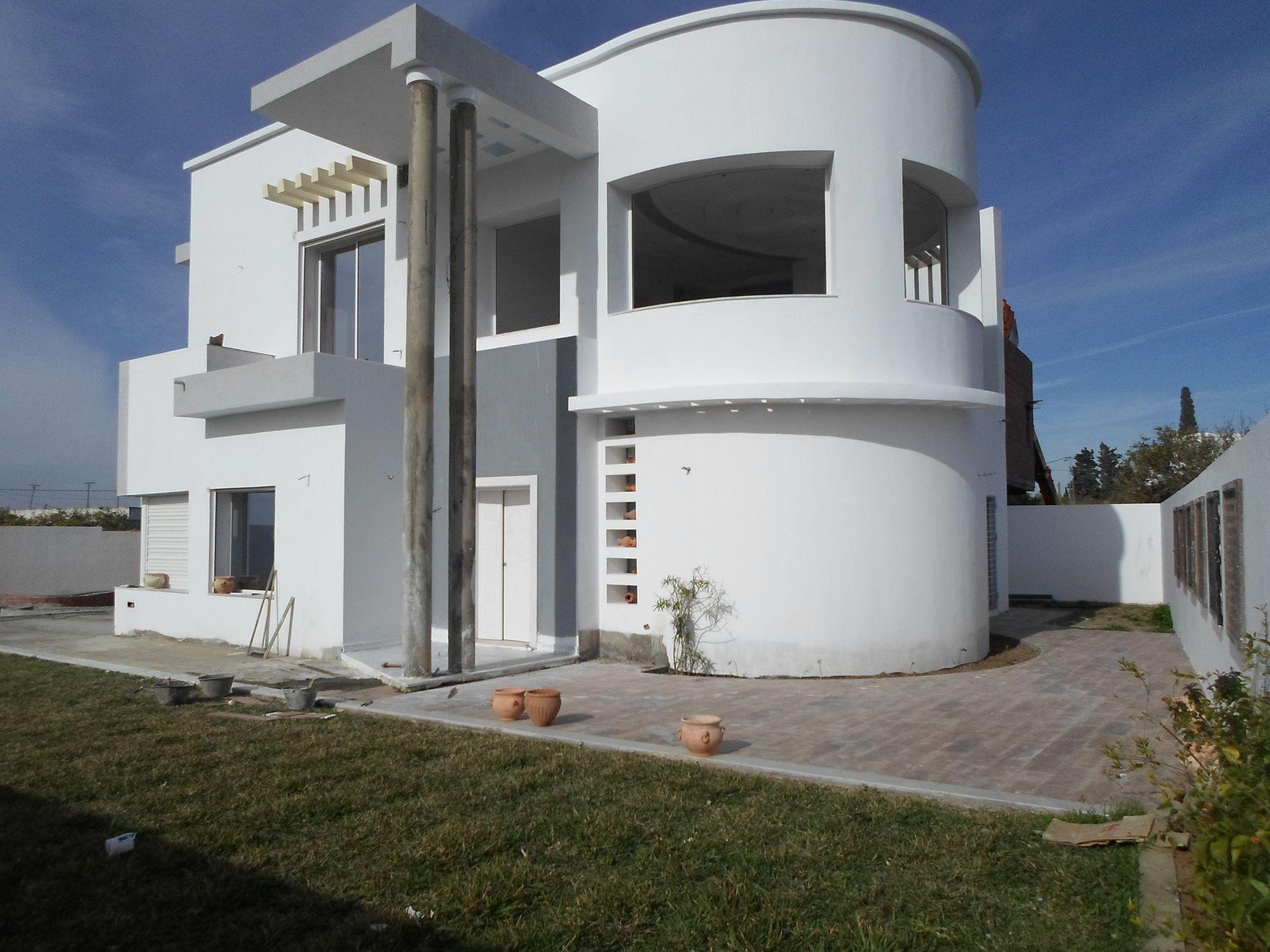 Decoration Facade Maison Exterieur - Le Site Déco dedans Decoration Cloture Exterieur Maison En Tunisie