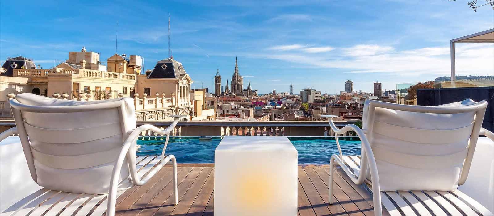 Découvrez Ohla, Le Sublime Hôtel Avec Piscine À Barcelone avec Hotel Avec Piscine Barcelone