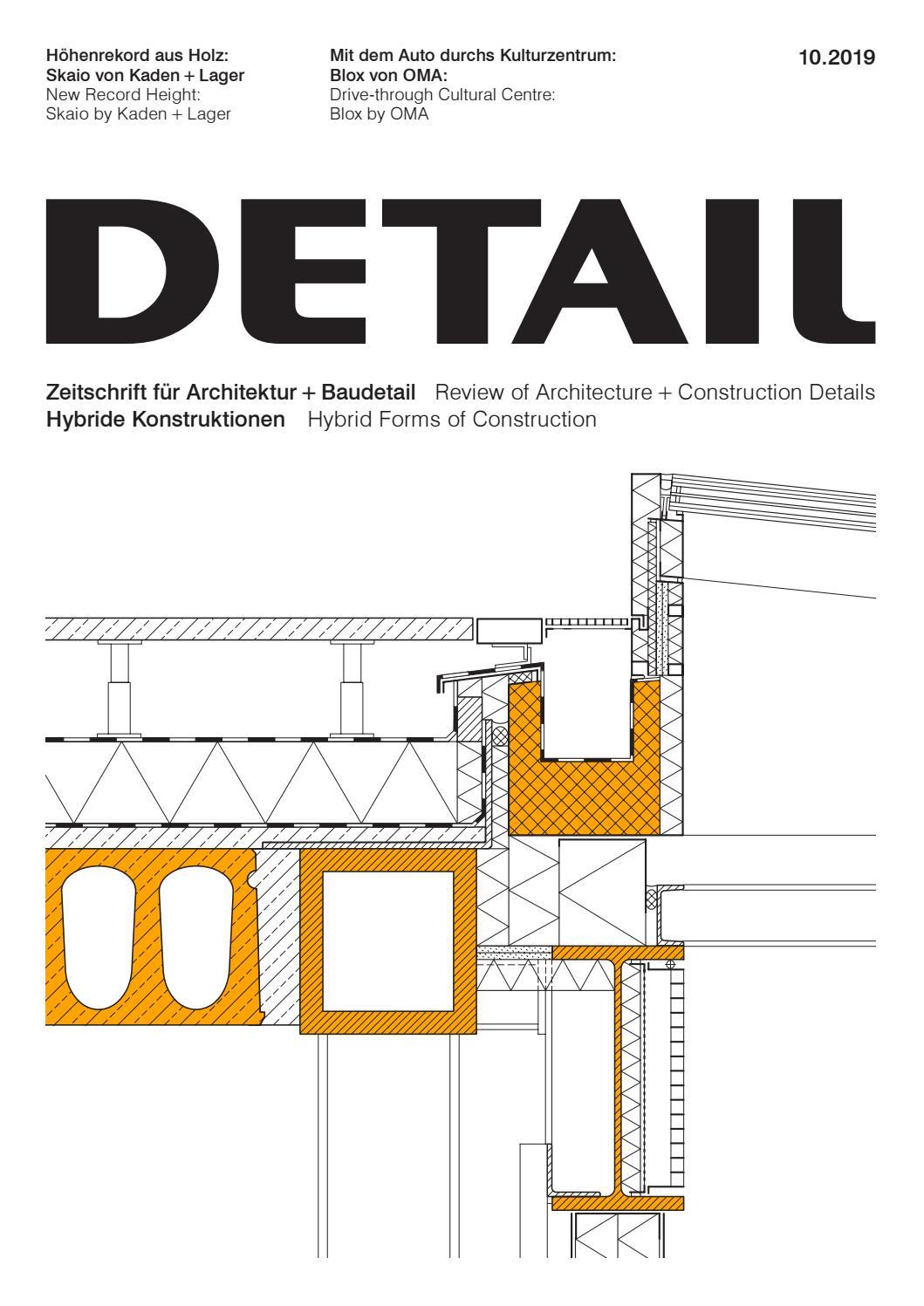 Detail 10/2019 - Hybride Konstruktionen / Hybride ... pour Bz 120 Cm But