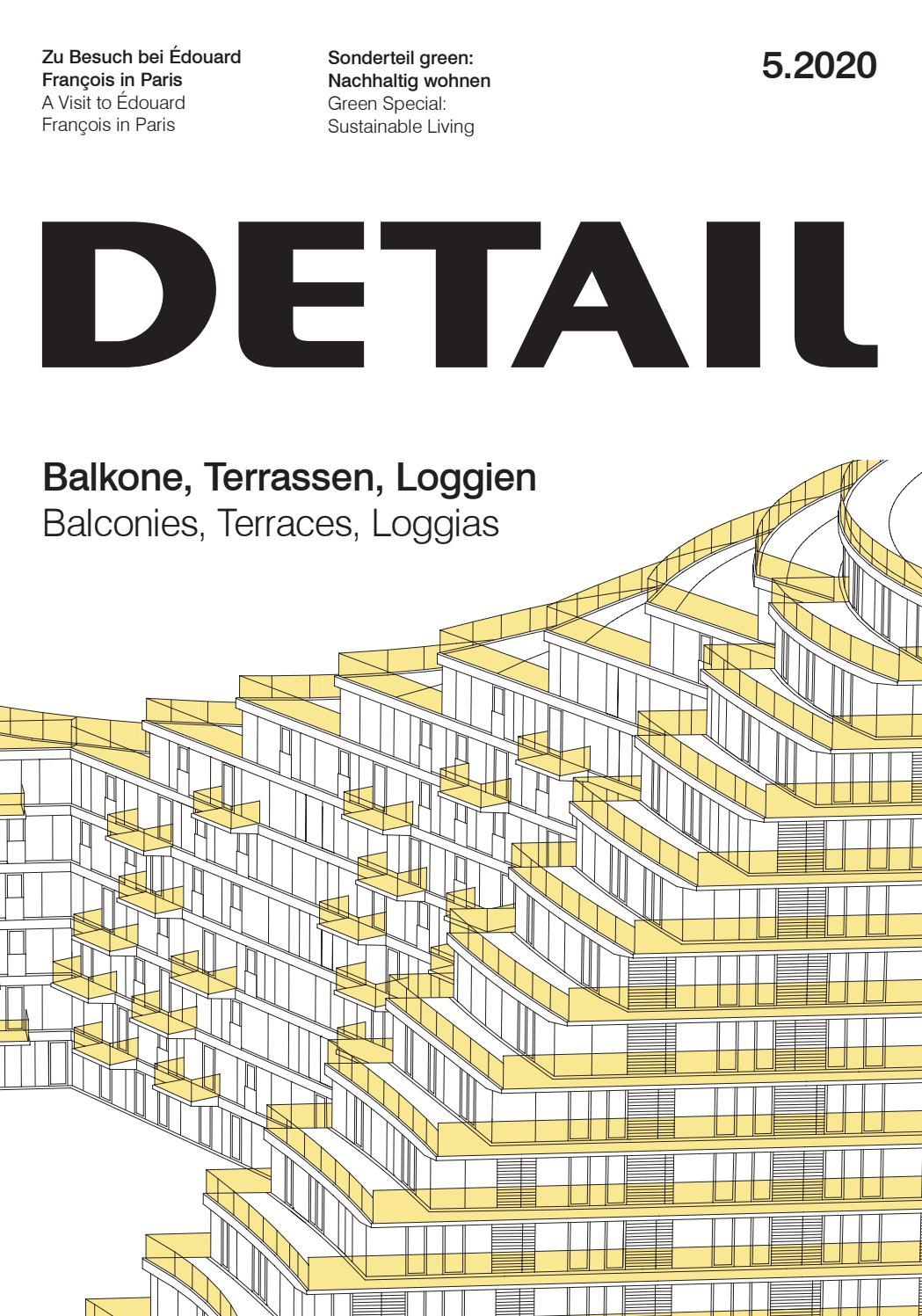 Detail 5/2020 - Balkone, Terrassen, Loggien / Balconies ... dedans Bz 120 Cm But