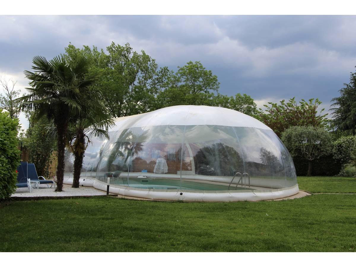 """Dôme Gonflable Pour Piscine """"Cristalball"""" - 6 X 12 M 97704 intérieur Dome Piscine Hors Sol"""