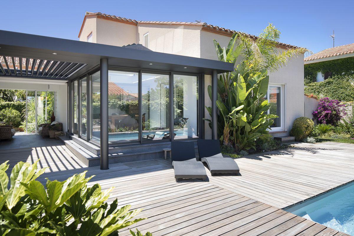 Donnez De La Valeur Ajoutée À Votre Maison Avec Extens'K, L ... intérieur Terrasse Couvertemoderne