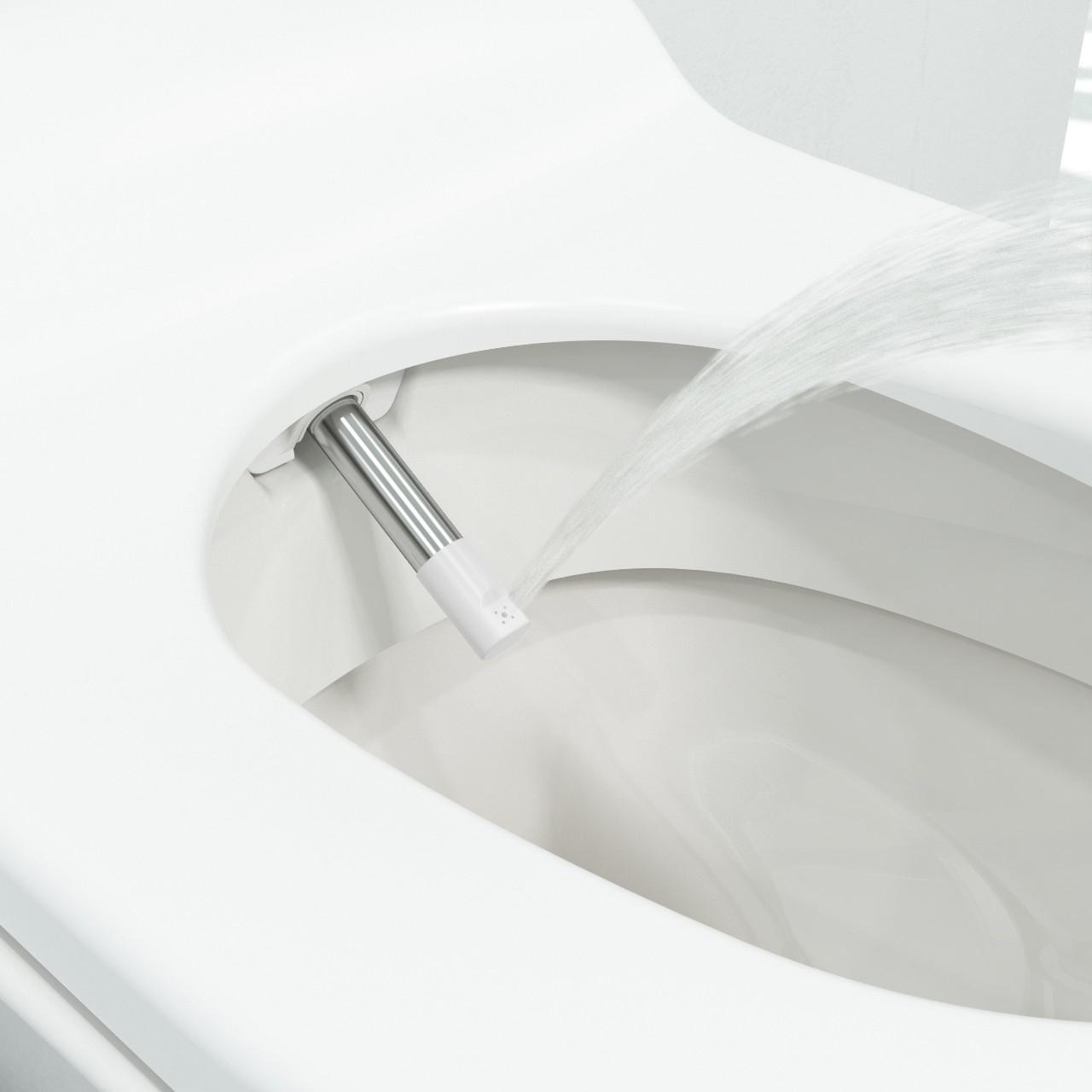 Douche-Wc Voor Ultieme Hygiëne En Comfort tout Douche Frisse