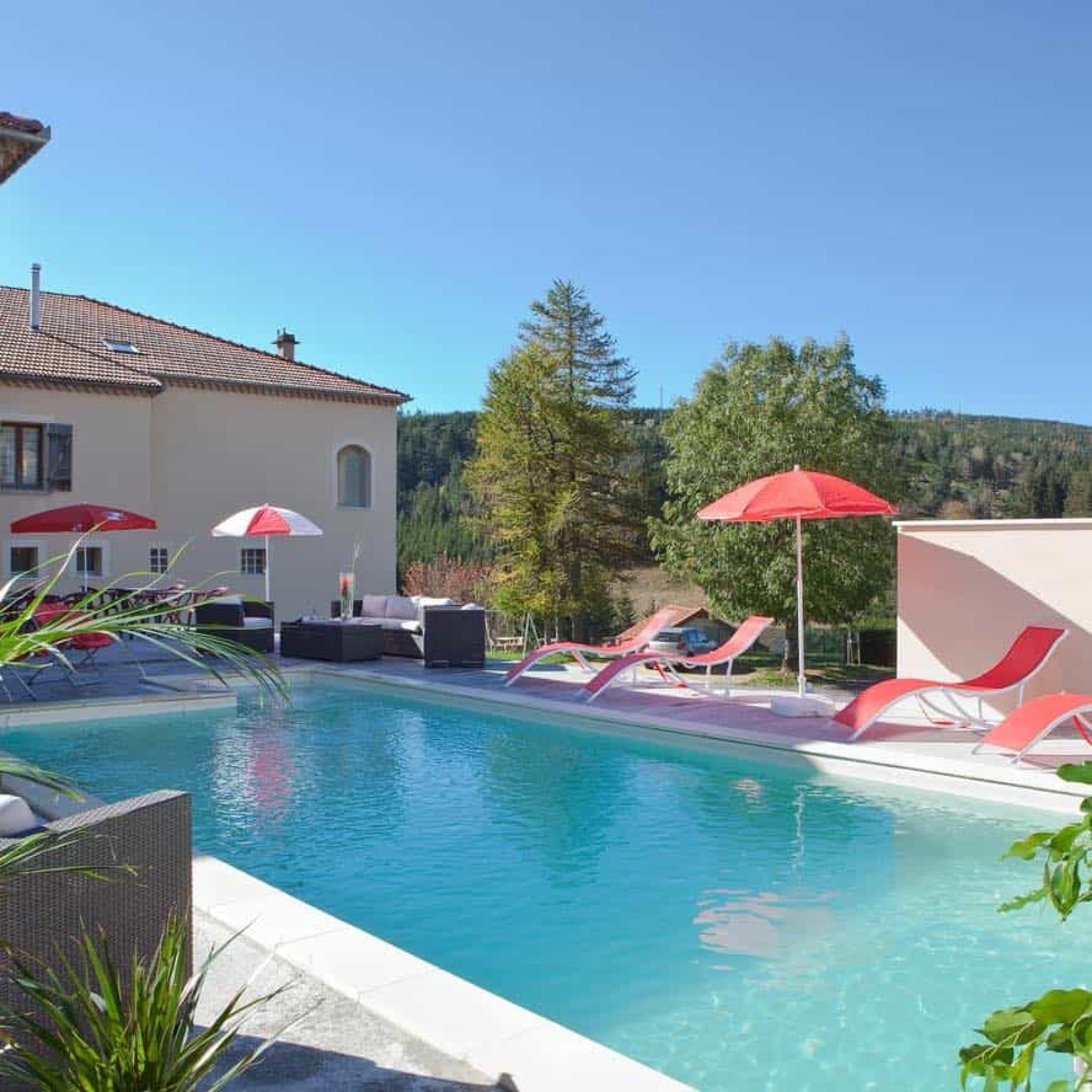 ∞ Hôtel 3 Étoiles En En Ardèche Avec Piscine | Hôtel Des Sapins dedans Hotel Ardeche Avec Piscine