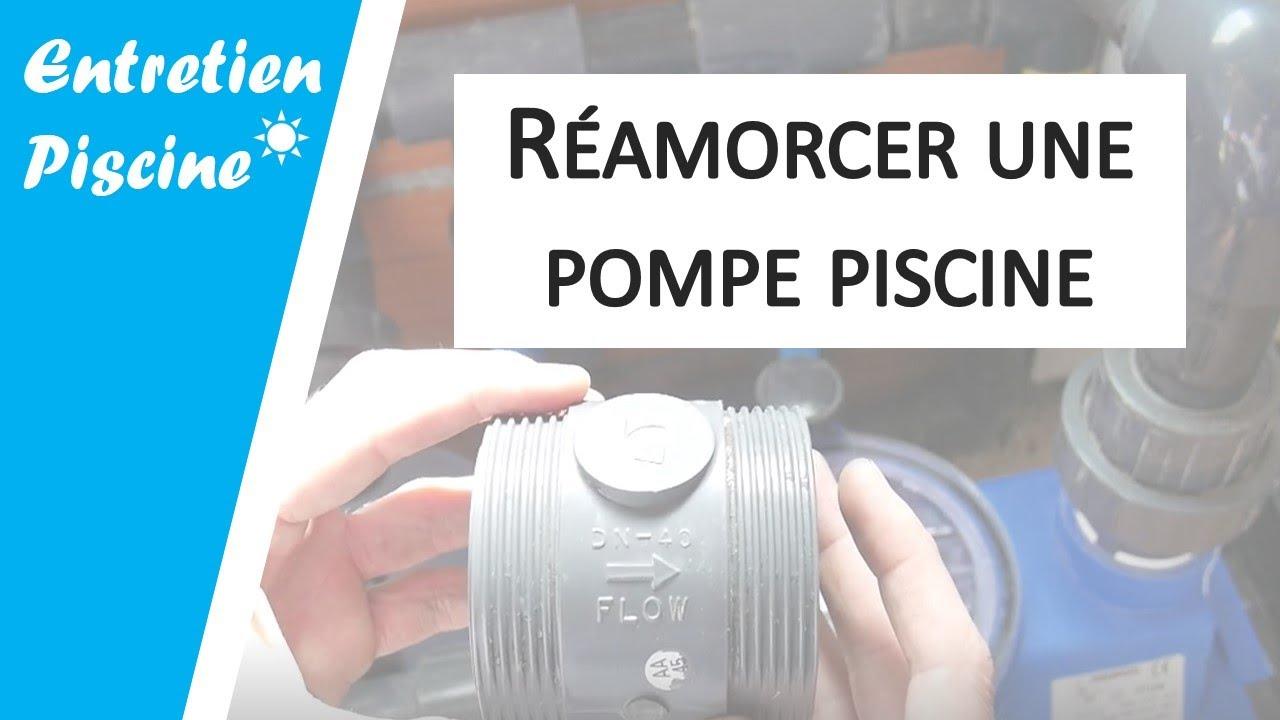 ✅ Réamorcer Une Pompe Piscine pour Comment Réamorcer Une Pompe De Piscine
