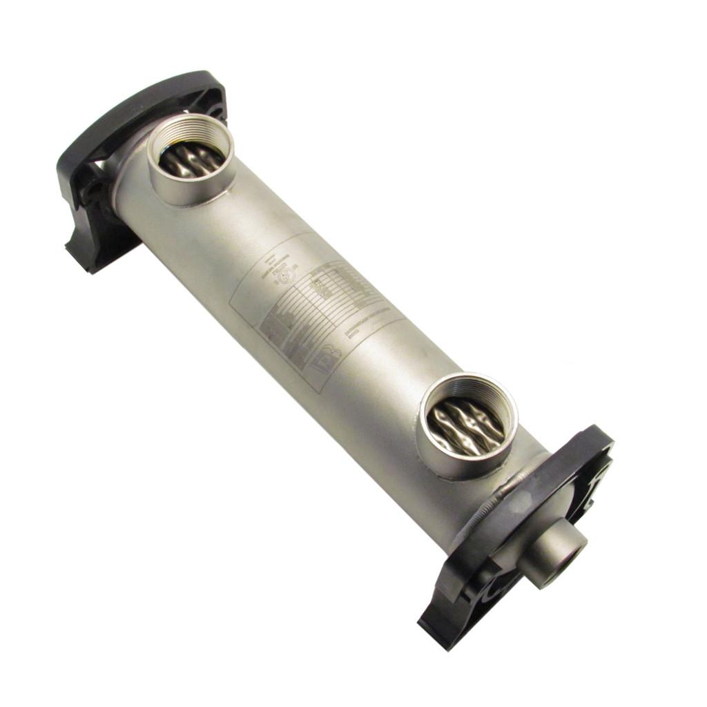 Échangeur Tubulaire Pour Piscine Ou Spas Au Sel 155K Btu (Titanium) tout Echangeur Piscine